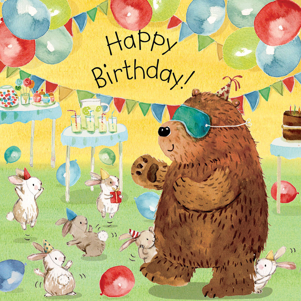 Image of Twizler Cards Tiger Tots Happy Birthday TOT10