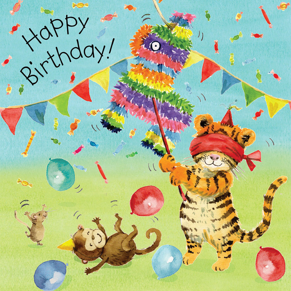 Image of Twizler Cards Tiger Tots Happy Birthday TOT12