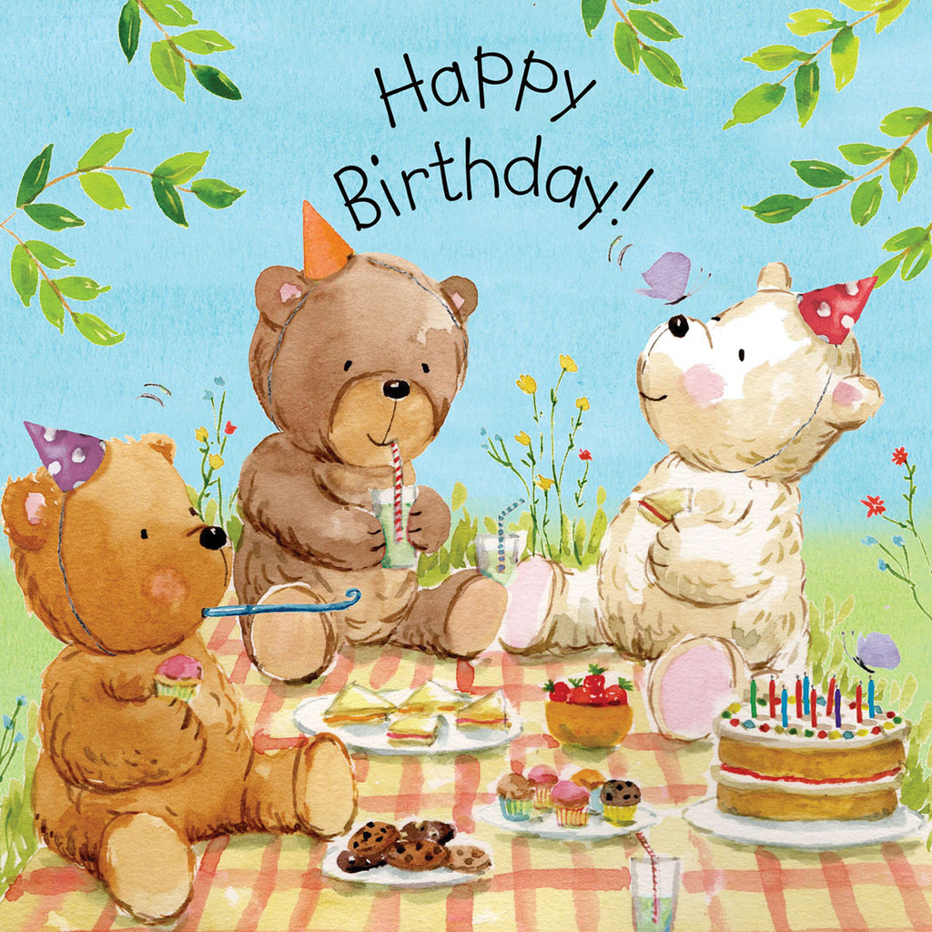 Image of Twizler Cards Tiger Tots Happy Birthday TOT8