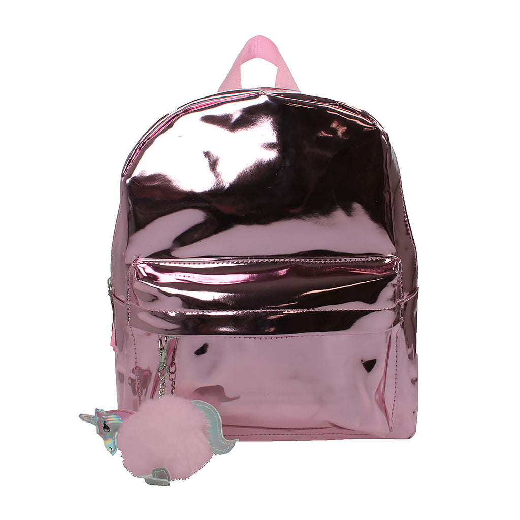 Image of William Lamb Bags Pink Mirror Bag