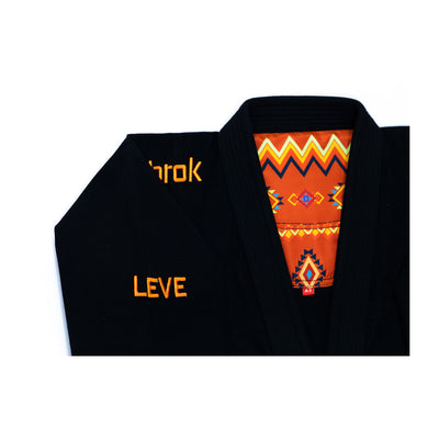 Leve 3.0 | Premium Ultra Light | BJJ GI | Men | Black