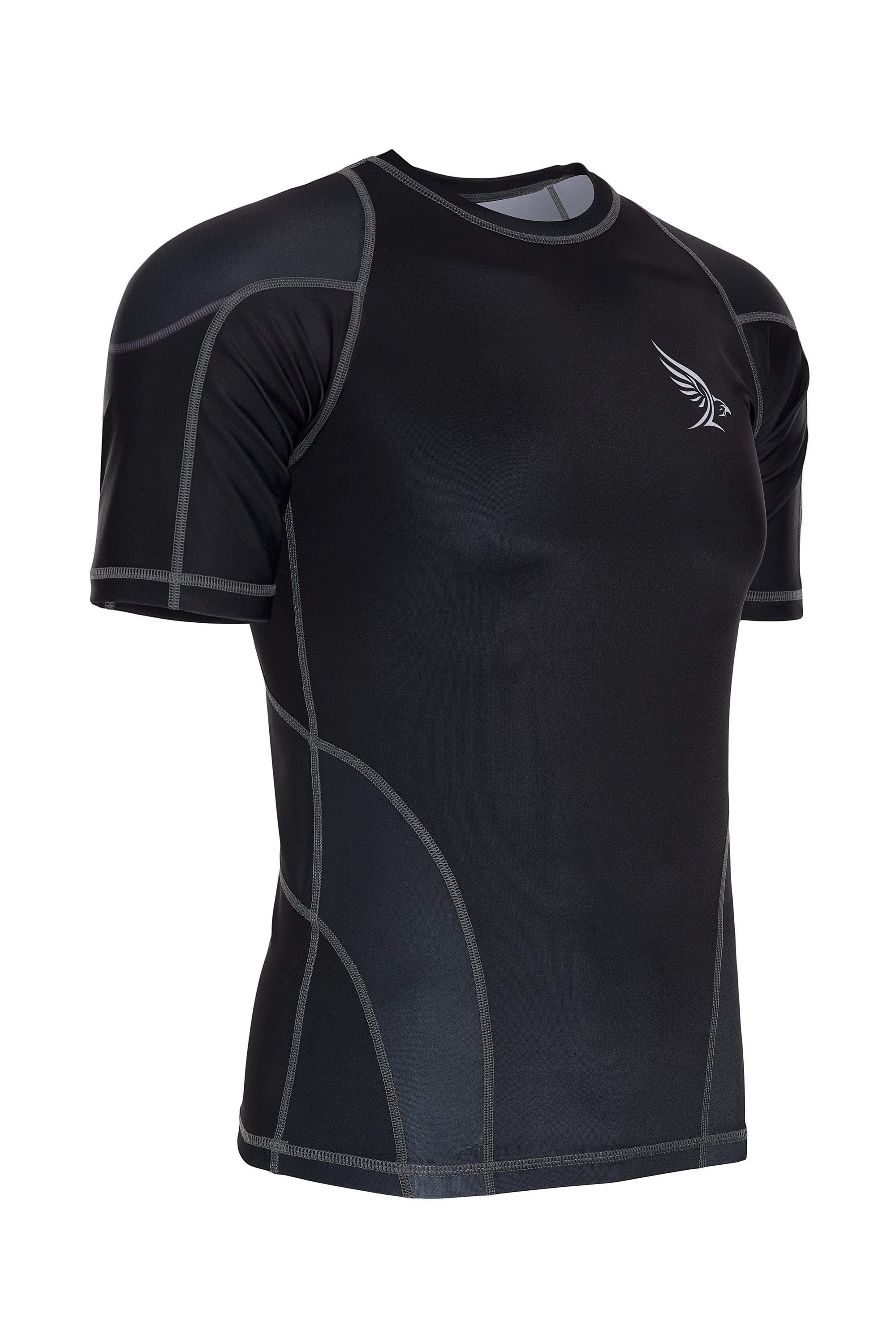 Habrok Rash Guard S / BLACK Pugnator 2.0 | Rash Guard | Half Sleeve 680334795355