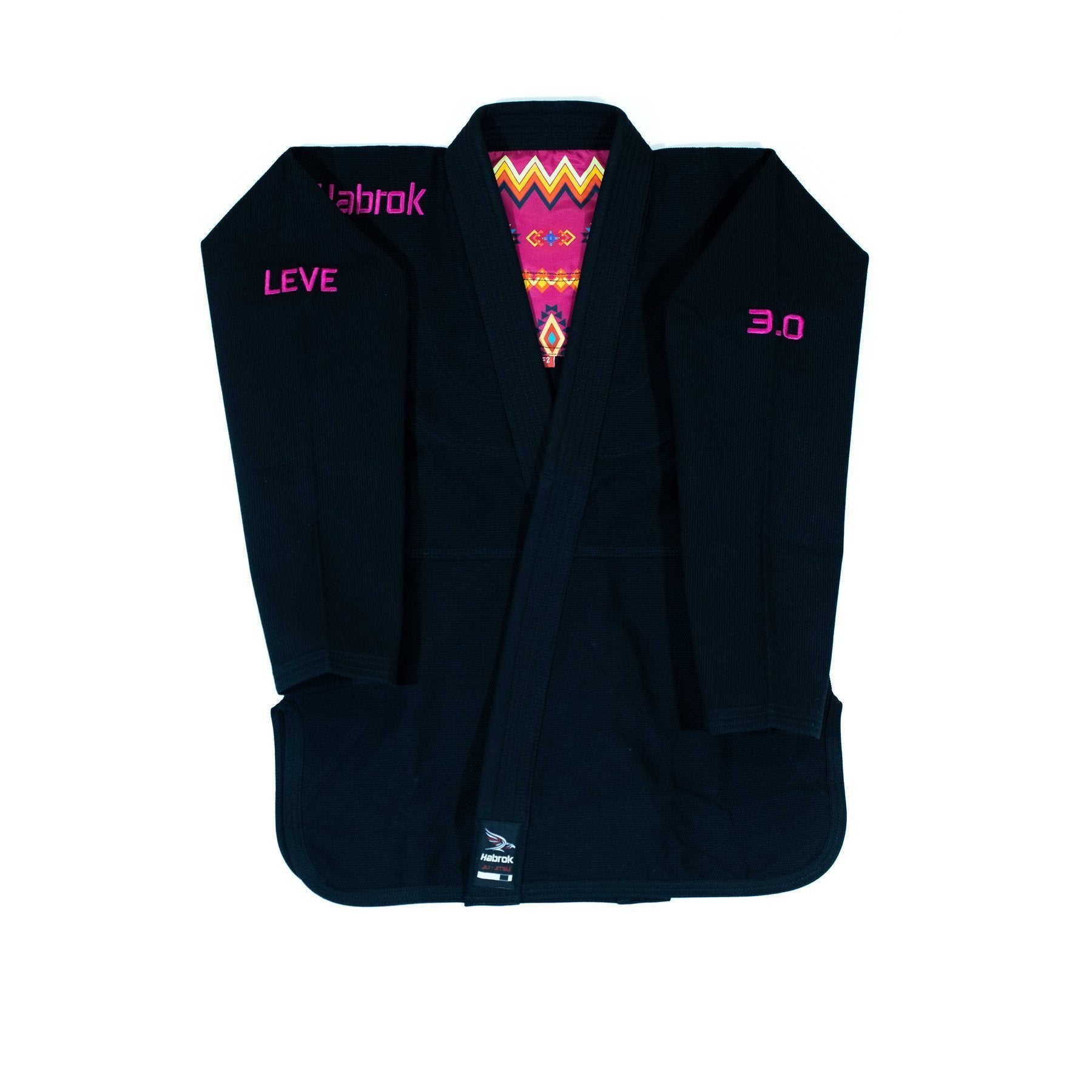 Leve 3.0 | Premium Ultra Light | BJJ GI | Women | Black