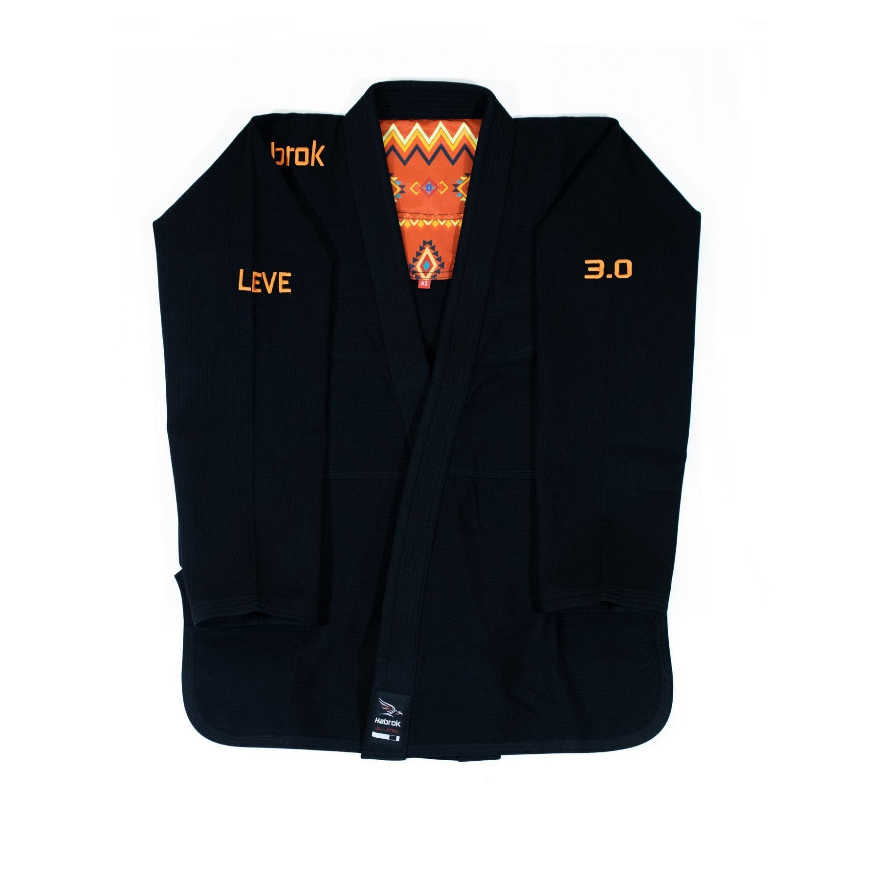Leve 3.0 | Premium Ultra Light | BJJ GI | Youth | Black