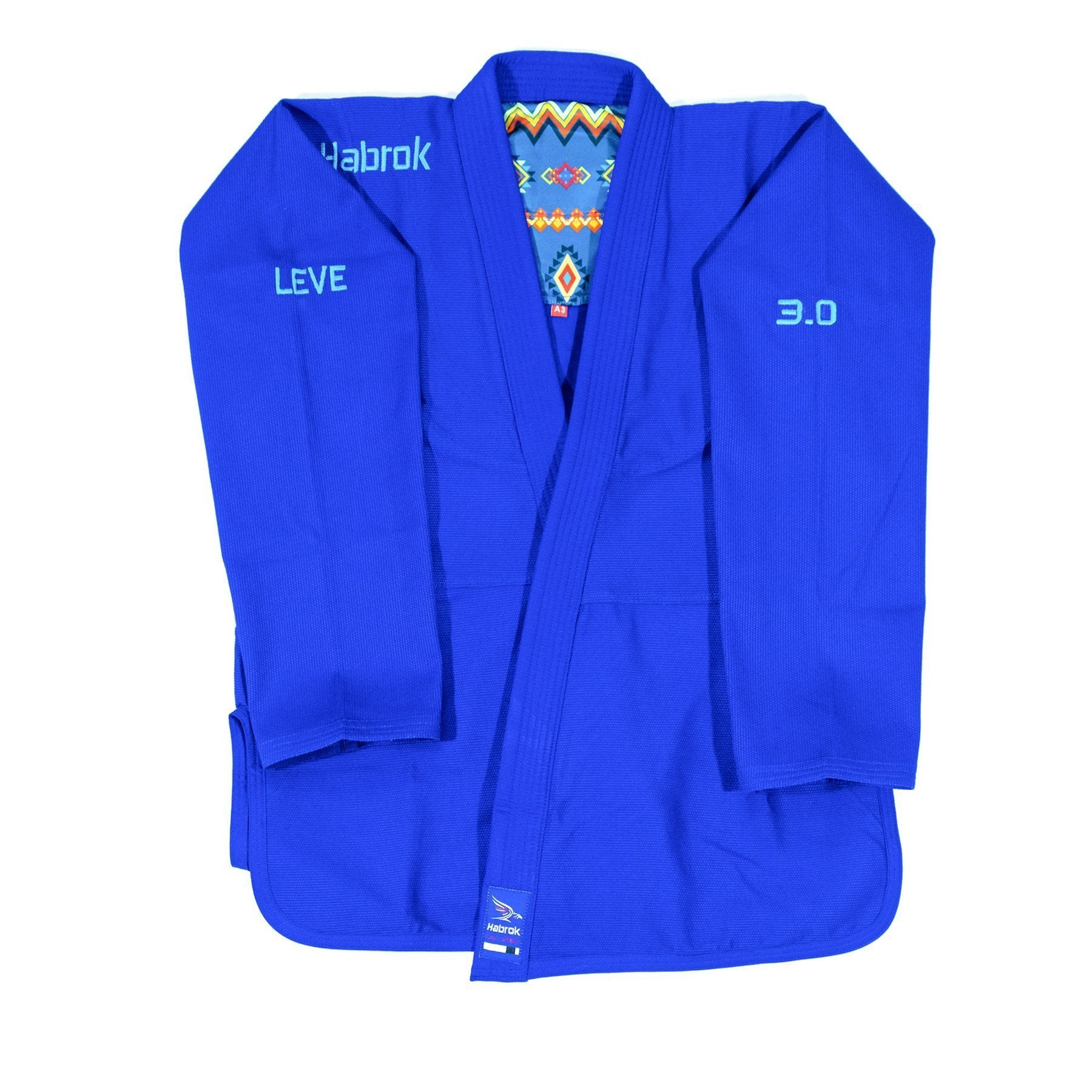 Leve 3.0 | Premium Ultra Light | BJJ GI | Youth | Blue