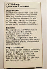 CV Defense Daily Immune Support