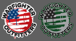 Warfighter Sticker