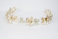Delicate Gold Wedding Tiara