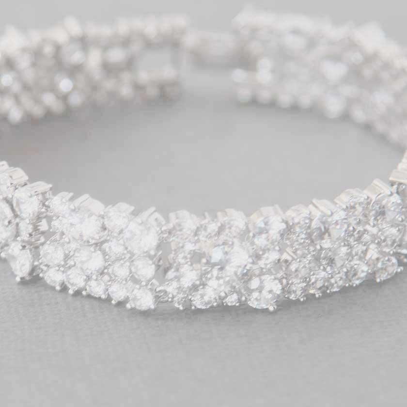 Wedding Bracelets from Cassandra Lynne