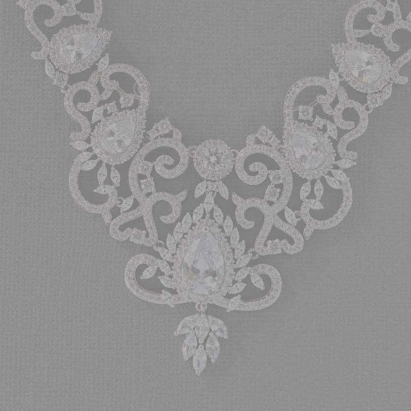 bridal Wedding Necklace Sets from Cassandra Lynne