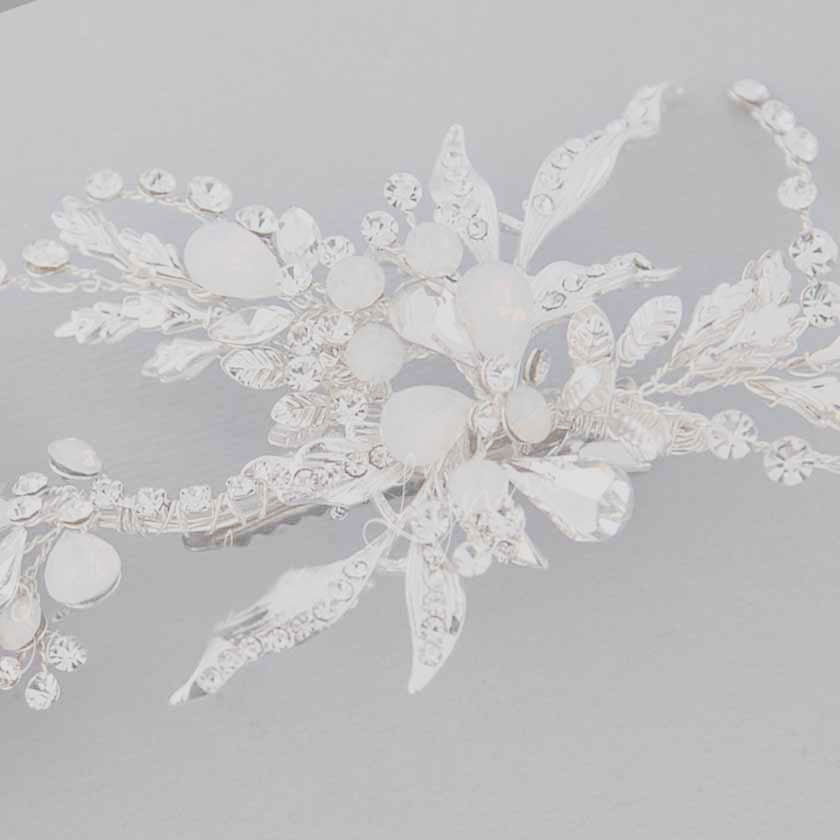 Bridal Hair Clips from Cassandra Lynne