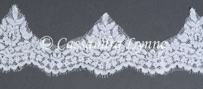 Chapel Length Lace Mantilla Veil