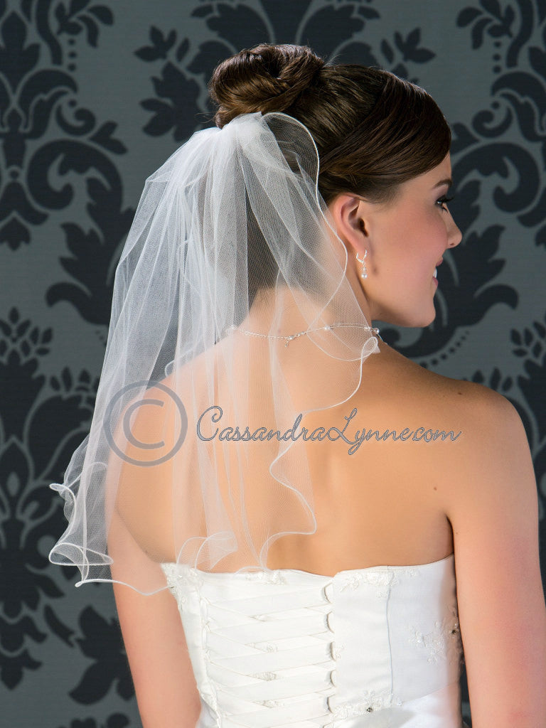 Short Bridal Veils And Headpieces | www.topsimages.com