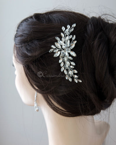 Marquise Spray Bridal Hair Comb