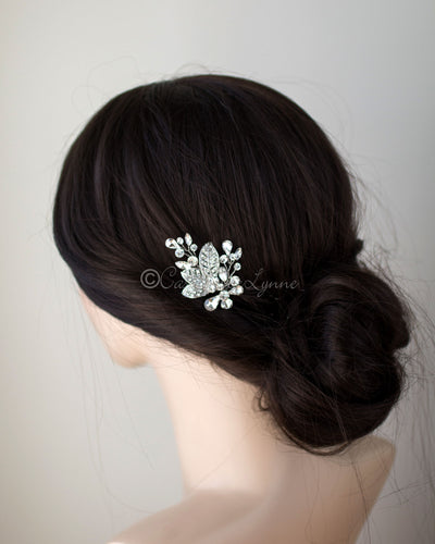 Wedding Hair Pin Set in Antique Silver
