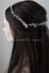 Beach Wedding Hair Vine with Pearls and Starfish