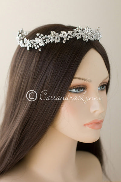 Vine Hair Circlet halo for Bride
