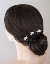 Wedding Hair Pin with Elegant Marquise Jewels