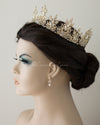 Full Circle Marquise Filigree Wedding Crown
