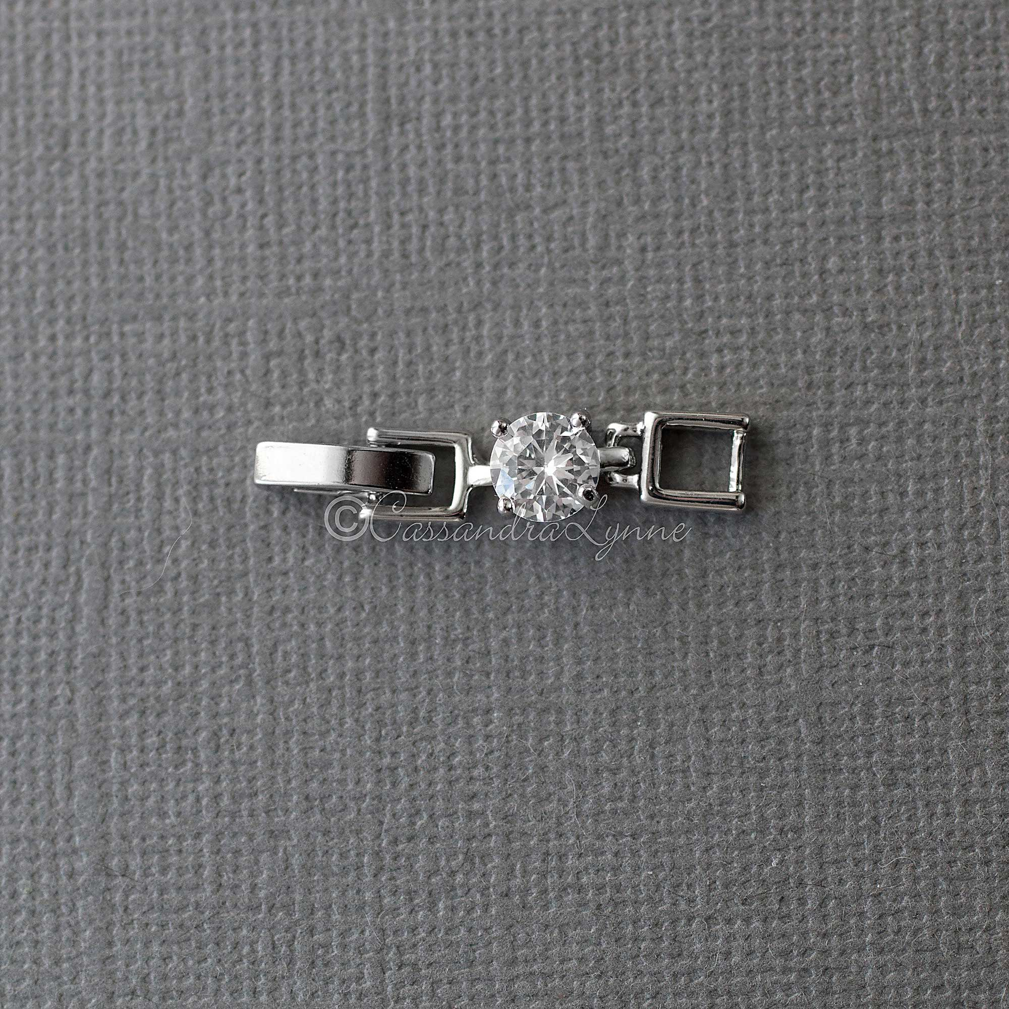 CZ Bracelet or Necklace Extender