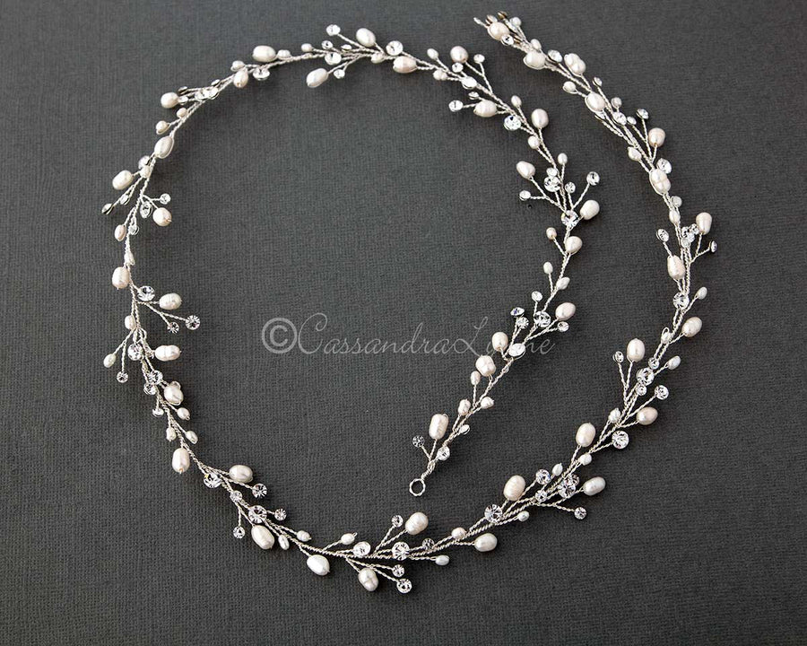 white pearls for beads men in wedding and golden pearl haar amazon dp
