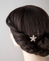 Rose Gold Starfish Hair Pin