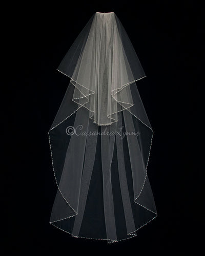 Waltz Wedding Veil Two Layer