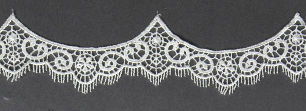 Bridal Veil with Venise Vintage Inspired Lace