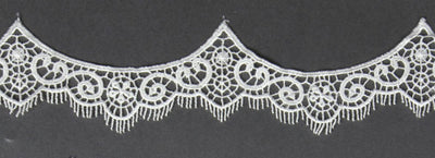 45 Inch Bridal Veil with Venise Vintage Inspired Lace