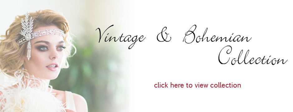 Vintage and Bohemian Bridal Hair Accessories
