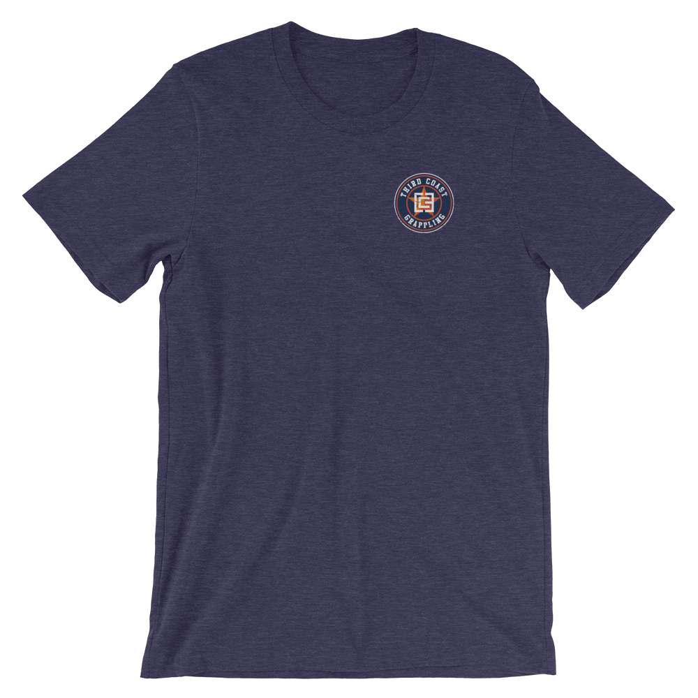 Houston 3CG Champions Pocket Print Short-Sleeve Unisex T-Shirt