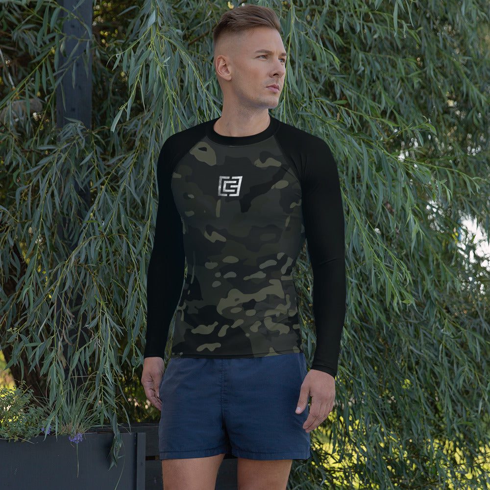 3CG x MultiCam Black™ Sleeved Men's Rash Guard