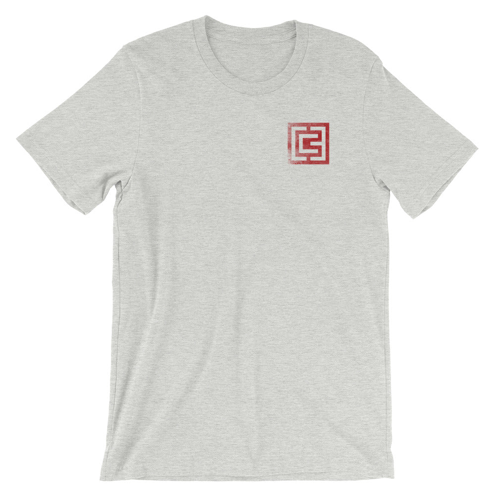 3CG Pocket Print Short-Sleeve Unisex T-Shirt