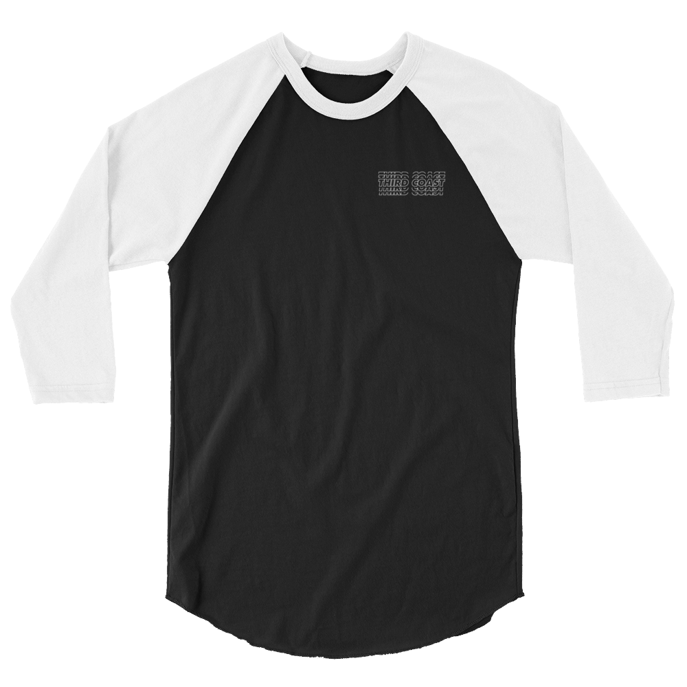 Third Coast Repeat 3/4 sleeve raglan shirt