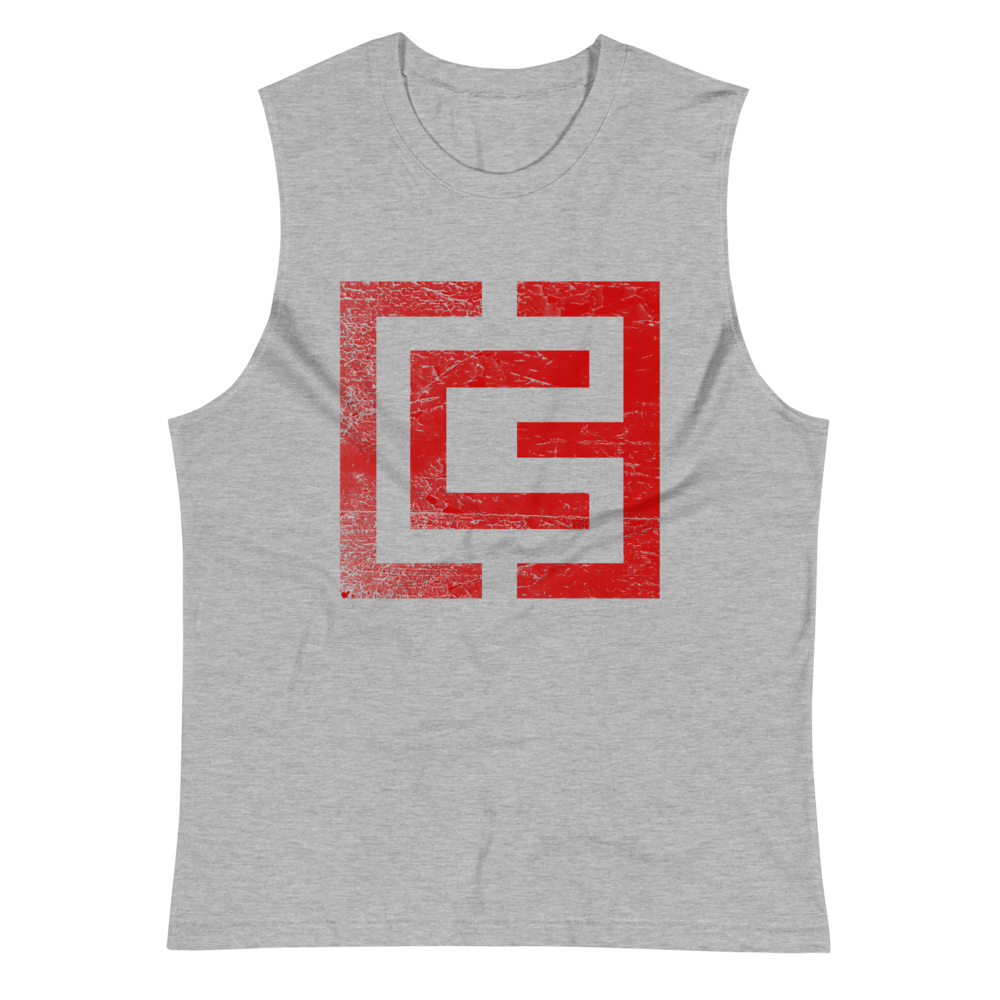3CG Red UNISEX Muscle Shirt