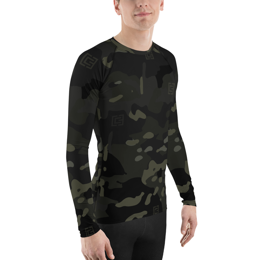 3CG x MultiCam Black™ Men's Rash Guard