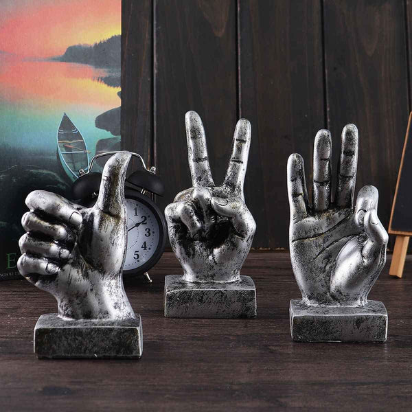 Hand Gesture Statues
