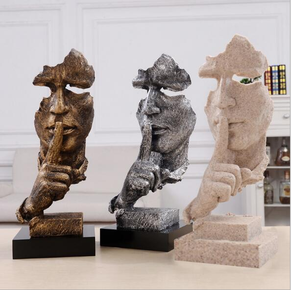 Silence Abstract Statue Decoration Interior Decor store buy now