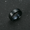 black titanium ring men