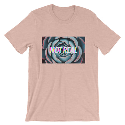NOT REAL GLITCH HEATHER T-Shirt
