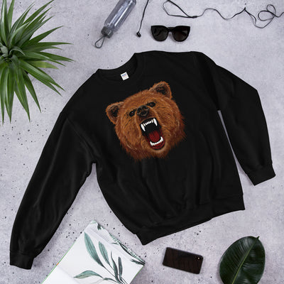 RAGING Bear Graphic Print Sweater