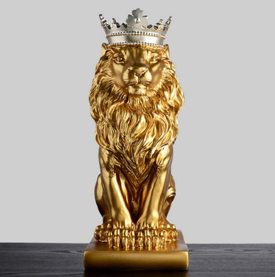 lion statue decoration interior sculpture shop