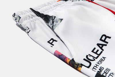 Nuclear Versus Sweatpant Joggers - White