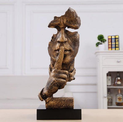 Abstract Silence Statue Decoration Interior Decor shop now