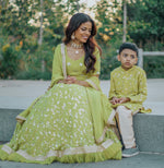 Vibrant Green Traditional Indian Lehenga Choli - Shop Indian Wedding Outfits Online at sushmapatel.us in America