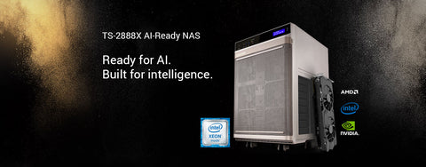 New Generation QNAP TS-2888X AI-ready network attached storage (NAS) released