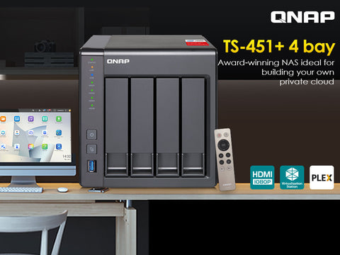 QNAP TS-451+ Product Brief