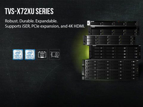 Introducing the TVS-x72UX Series from QNAP