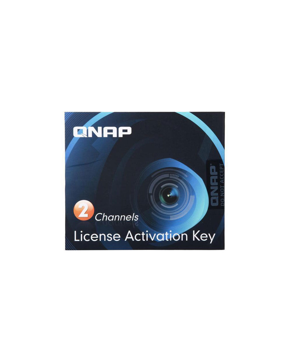 2 Camera License Activation Key for Surveillance Station Pro for QNAP NAS - LIC-CAM-NAS-2CH