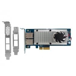 Add a QNAP LAN-10G2T-X550 Dual-Port 10GBASE-T Network Expansion Card to your NAS for only $339.00 from $339.00
